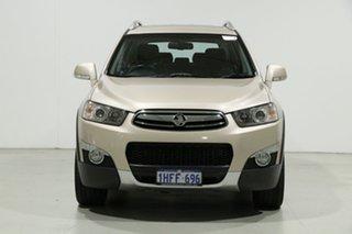 2011 Holden Captiva CG MY10 LX (4x4) Gold 5 Speed Automatic Wagon.