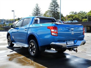 2017 Mitsubishi Triton MQ MY17 Exceed Double Cab Blue 5 Speed Sports Automatic Utility