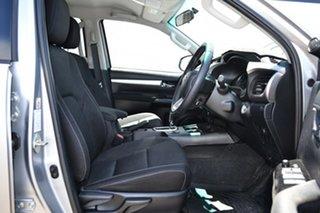 2016 Toyota Hilux GUN126R SR5 (4x4) Silver Sky 6 Speed Automatic Dual Cab Utility