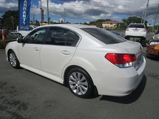 2011 Subaru Liberty B5 MY12 3.6R AWD Premium White 5 Speed Sports Automatic Sedan.