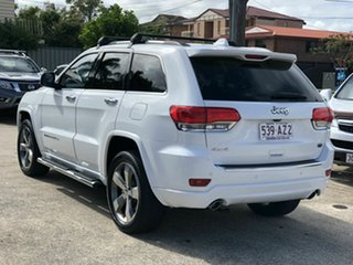 2015 Jeep Grand Cherokee WK MY15 Overland White 8 Speed Sports Automatic Wagon.