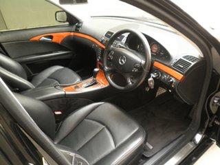 2006 Mercedes-Benz E-Class W211 MY07 E200 Kompressor Elegance Obsidian Black Metallic 5 Speed