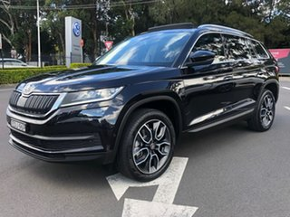 2019 Skoda Kodiaq NS MY20 132TSI DSG Black 7 Speed Sports Automatic Dual Clutch Wagon