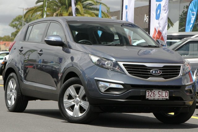 Used Kia Sportage SL SI Aspley, 2011 Kia Sportage SL SI Blue 5 Speed Manual Wagon
