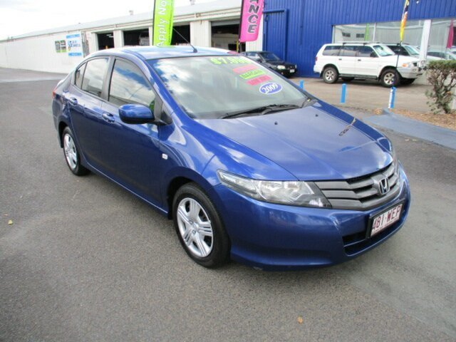 Used Honda City VTi Woodridge, 2008 Honda City IVTEC VTi Blue 5 Speed Manual Sedan
