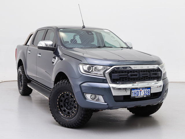 Used Ford Ranger PX MkII XLT 3.2 (4x4), 2015 Ford Ranger PX MkII XLT 3.2 (4x4) Grey 6 Speed Automatic Double Cab Pick Up