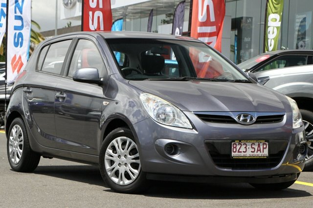 Used Hyundai i20 PB MY11 Active Aspley, 2011 Hyundai i20 PB MY11 Active Grey 5 Speed Manual Hatchback