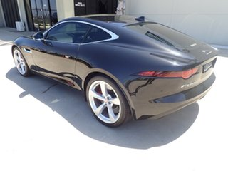 2018 Jaguar F-TYPE MY18.5 2.0 RWD (221kW) Metallic Black 8 Speed Automatic Sequential Coupe