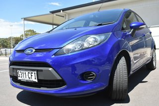 2012 Ford Fiesta WT LX Blue 5 Speed Manual Hatchback.