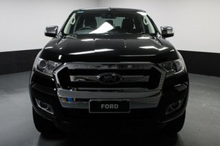 2018 Ford Ranger PX MkII 2018.00MY XLT Double Cab Shadow Black 6 Speed Sports Automatic Utility