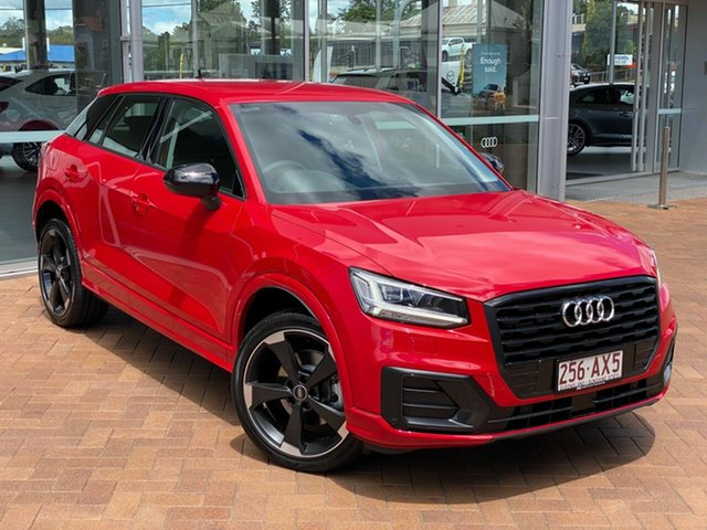 Demo Audi Q2 GA MY20 35 TFSI S Tronic Edition #2 Toowoomba, 2020 Audi Q2 GA MY20 35 TFSI S Tronic Edition #2 Tango Red 7 Speed Sports Automatic Dual Clutch