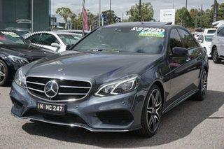 2015 Mercedes-Benz E-Class W212 806MY E250 7G-Tronic + Grey 7 Speed Sports Automatic Sedan