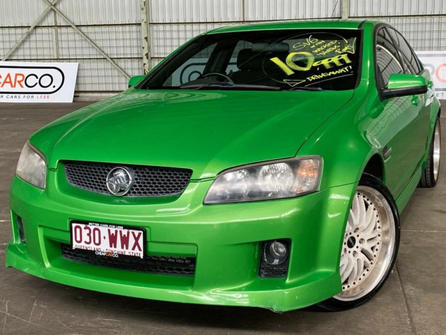 Used Holden Commodore VE MY09.5 SV6 Rocklea, 2009 Holden Commodore VE MY09.5 SV6 Green 5 Speed Sports Automatic Sedan