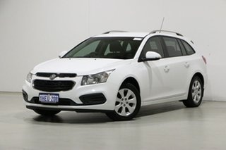 2015 Holden Cruze JH MY16 CD White 6 Speed Automatic Sportswagon.