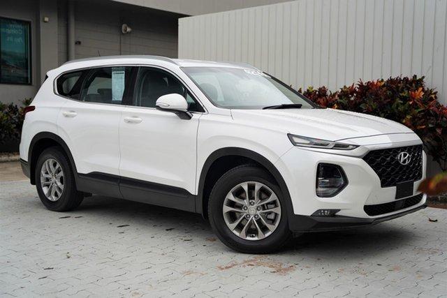 Used Hyundai Santa Fe TM MY19 Active Cairns, 2018 Hyundai Santa Fe TM MY19 Active White 8 Speed Sports Automatic Wagon
