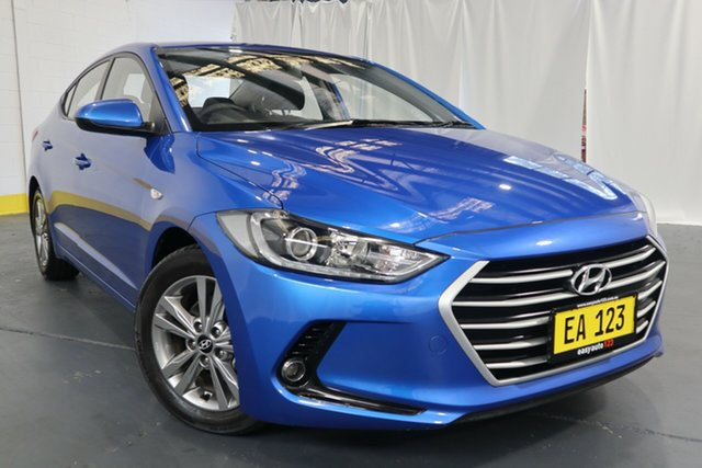 Used Hyundai Elantra AD MY17 Active Castle Hill, 2016 Hyundai Elantra AD MY17 Active Blue 6 Speed Sports Automatic Sedan