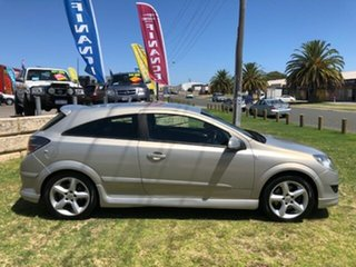 2007 Holden Astra AH MY07.5 SRi Silver 4 Speed Automatic Coupe.