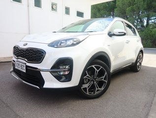 2018 Kia Sportage QL MY19 GT-Line AWD White 6 Speed Sports Automatic Wagon