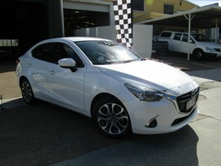 2017 Mazda 2 DL2SAA GT SKYACTIV-Drive White 6 Speed Sports Automatic Sedan.
