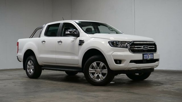 Used Ford Ranger PX MkIII 2020.75MY XLT Welshpool, 2020 Ford Ranger PX MkIII 2020.75MY XLT White 6 Speed Sports Automatic Double Cab Pick Up