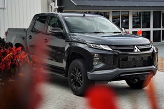 2020 Mitsubishi Triton MR MY21 GSR Double Cab Graphite Grey 6 Speed Sports Automatic Utility