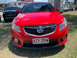 2012 Holden Cruze JH Series II MY13 SRi-V Red 6 Speed Sports Automatic Sedan