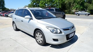 2011 Hyundai i30 FD MY11 SX cw Wagon Grey 4 Speed Automatic Wagon.