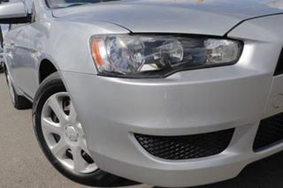 2012 Mitsubishi Lancer CJ MY13 ES Cool Silver 6 Speed Constant Variable Sedan.