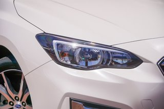 2018 Subaru Impreza G5 MY18 2.0i Premium CVT AWD White 7 Speed Constant Variable Hatchback.
