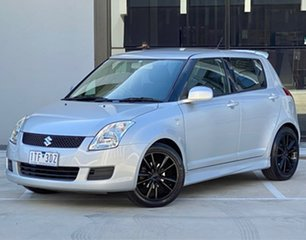 2008 Suzuki Swift RS415 Silver 4 Speed Automatic Hatchback.