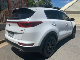 2018 Kia Sportage QL MY18 GT-Line AWD White/two Tone Leather 6 Speed Sports Automatic Wagon.