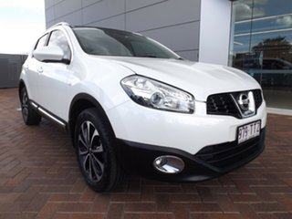 2013 Nissan Dualis J10W Series 3 MY12 Ti-L Hatch X-tronic 2WD White 6 Speed Constant Variable