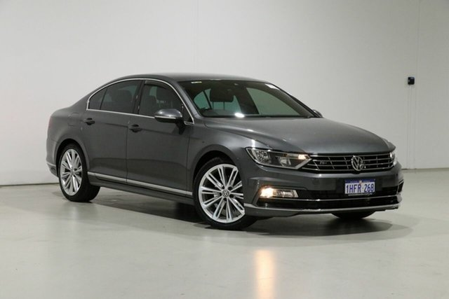 Used Volkswagen Passat 3C MY16 140 TDI Highline Bentley, 2016 Volkswagen Passat 3C MY16 140 TDI Highline Grey 6 Speed Direct Shift Sedan