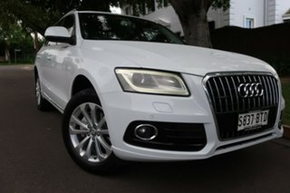 2013 Audi Q5 8R MY13 TFSI Tiptronic Quattro White 8 Speed Sports Automatic Wagon.