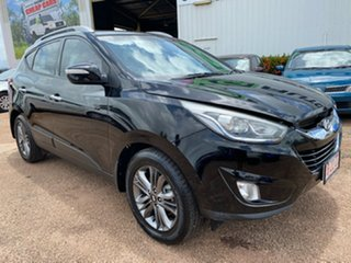 2014 Hyundai ix35 LM3 MY14 Elite AWD Black 6 Speed Sports Automatic Wagon.