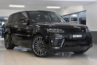 2017 Land Rover Range Rover Sport L494 18MY Autobiography Dynamic Black 8 Speed Sports Automatic.