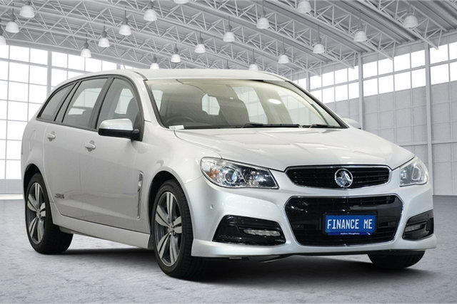 Used Holden Commodore VF MY14 SS Sportwagon Victoria Park, 2014 Holden Commodore VF MY14 SS Sportwagon Silver 6 Speed Sports Automatic Wagon