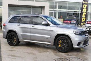 2018 Jeep Grand Cherokee WK MY18 Trackhawk Billet Silver 8 Speed Sports Automatic Wagon.