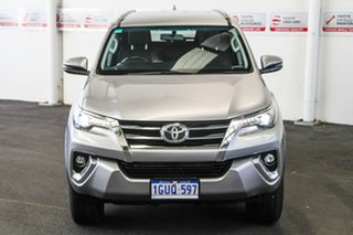 2019 Toyota Fortuner GUN156R Crusade Silver Sky 6 Speed Automatic Wagon