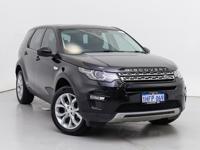Used Land Rover Discovery Sport LC MY17 TD4 180 HSE 5 Seat, 2017 Land Rover Discovery Sport LC MY17 TD4 180 HSE 5 Seat Santorini Black 9 Speed Automatic Wagon