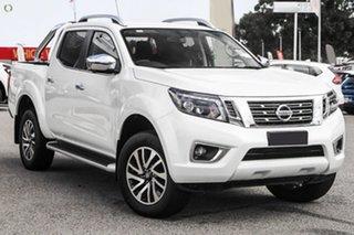 2020 Nissan Navara ST-X White Diamond Sports Automatic Dual Cab Utility.