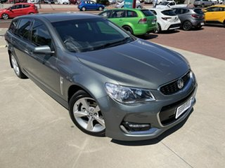 2016 Holden Commodore VF II SV6 Grey 6 Speed Automatic Sportswagon.
