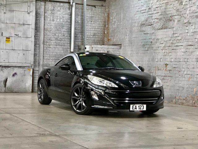 Used Peugeot RCZ MY14 Mile End South, 2014 Peugeot RCZ MY14 Black 6 Speed Sports Automatic Coupe