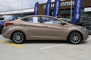 2014 Hyundai Elantra MD3 Active Bronze 6 Speed Sports Automatic Sedan.