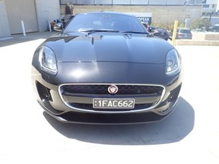 2018 Jaguar F-TYPE MY18.5 2.0 RWD (221kW) Metallic Black 8 Speed Automatic Sequential Coupe.