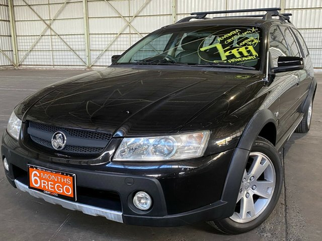Used Holden Adventra VZ CX6 Rocklea, 2005 Holden Adventra VZ CX6 Black 5 Speed Automatic Wagon