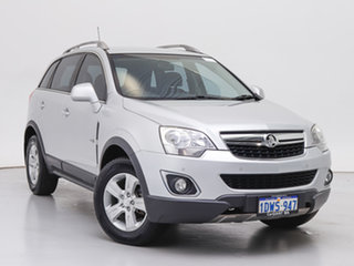 2012 Holden Captiva CG MY12 5 (4x4) Silver, Chrome 6 Speed Automatic Wagon.