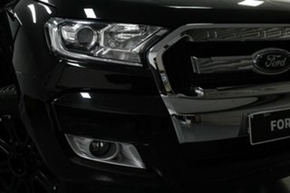 2018 Ford Ranger PX MkII 2018.00MY XLT Double Cab Shadow Black 6 Speed Sports Automatic Utility.