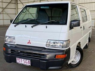 2011 Mitsubishi Express SJ MY11 MWB White 5 Speed Manual Van.