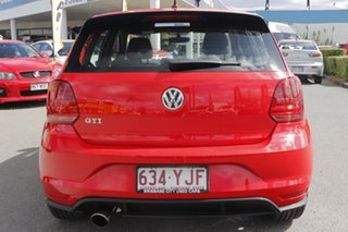 2017 Volkswagen Polo 6R MY17 GTI DSG Flash Red 7 Speed Sports Automatic Dual Clutch Hatchback